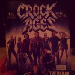 @laura_zeitzen #crock #of #ages (at Theatre Royal)