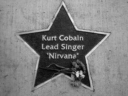 hylianknights:  Happy 46th Birthday, Kurt Cobain.Rest In Peace.February 20, 1967 – April 5, 1994