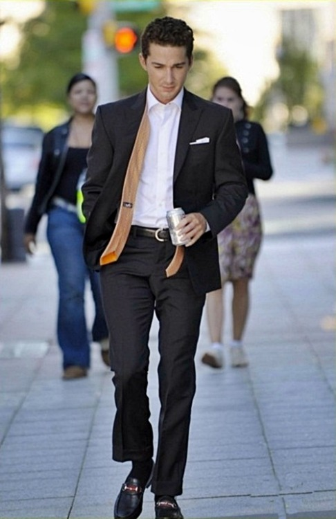 shialabeoufworld:  I love Shia in suit :)