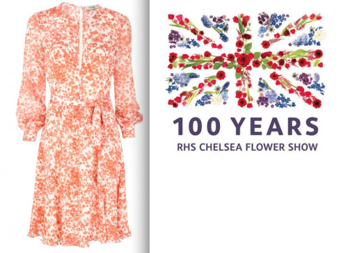 This week we're celebrating 100 years of the Chelsea Flower Show! In honour of the occasion why not step out in one of Beulah's beautiful floral print dresses? Our Blossom Dress is a perennial favourite and is recently back in stock- just in time for all your formal summer occasions. The Chelsea Flower Show, easily the most famous flower show in the world, is a quintessential English event and attracts visitors from all over the world every year. Book tickets today so you don't miss out on the chance to feast your eyes on a host of horticultural delights. If you're wearing Beulah you're sure to garner just as many appreciative gazes as the blooms themselves… To buy tickets to the show visit the RHS's website   If you don't have the time or the inclination to go to the show itself be sure to take a walk around Sloane Square as all of the neighbourhood stores have gotten into the spirit of the week by creating their own lavish floral displays.