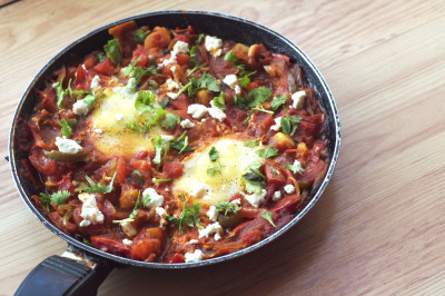 Shakshuka. Breakfast fit for a king.