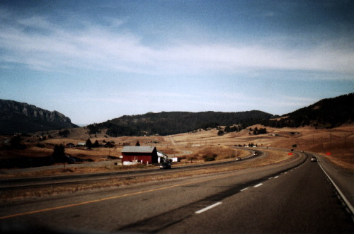 — Roadtripping in the west. Montana. October 2012.