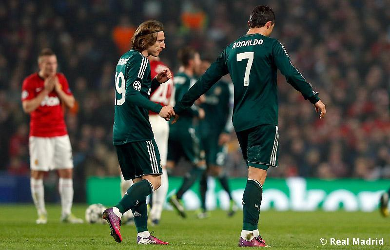 Men of the match <3  Modric & Ronaldo