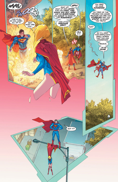 loveisnotanemotion:  when superman get snippy… (although that's h'el)