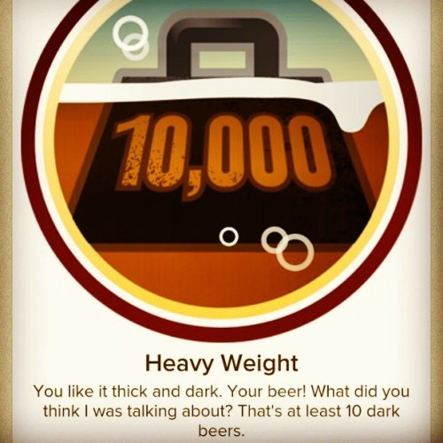 Damn straight!  #Friend me on #Untappd user: ufallome / Scotty B  #craftbeer #badge #dark #heavy #beer #sacto #beerporn  (at Sacramento, CA)