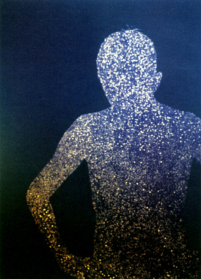 "likeafieldmouse:  Christopher Bucklow - Guests (2005) ""Solar pin-hole photographs of luminous silhouettes, for which the technical process is a cross between photography and drawing.  Strongly influenced by Carl Jung's theory of the Anima and Animus, the idea of the repressed parts of the psyche feature repeatedly throughout Bucklow's work."""