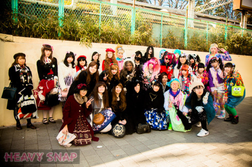 January harajuku fashion walk :)