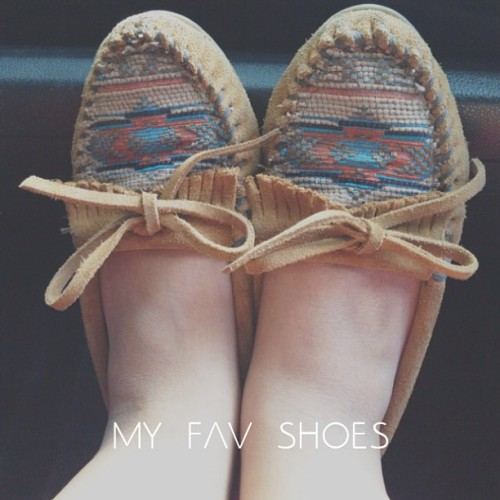 My fav shoes #shoes #minnetonka #favorite