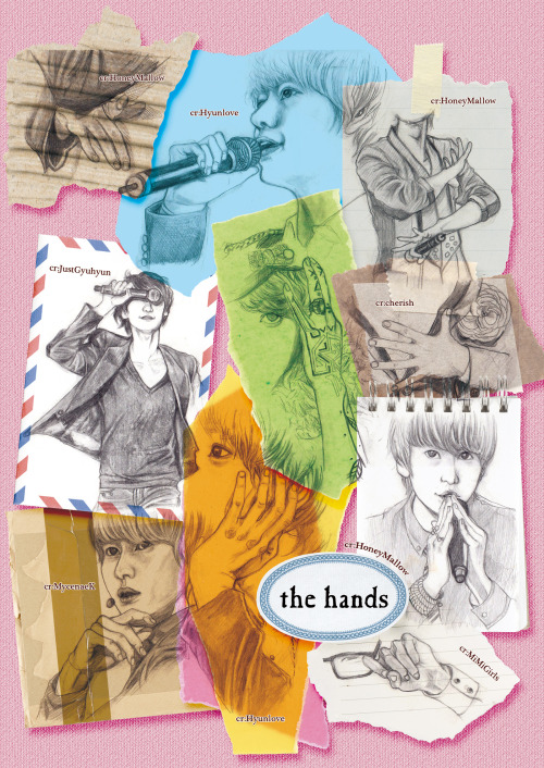 wonsugarkyub:  kyuradius:  fanart: kyuhyun's hands  WoW. I hope you didn't really tear them up. LOL  Beautiful~~