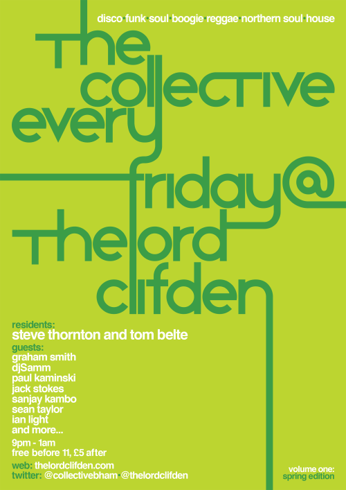 Every Friday @TheLordClifden