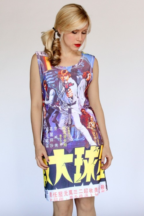 A funky Star Wars dress? Yes please! Sell this to me. Now!