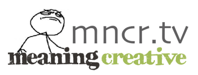 "Meaning Creative will be using the domain title ""mncr.tv"" to shorten long urls. For example: http://mncr.tv/prtfo will resolve to http://meaningportfolio.tumblr.com/(While you should always check the source of shared links, this will provide greater verification and less security issues primarily with Wordpress, Twitter, & GMail.)"