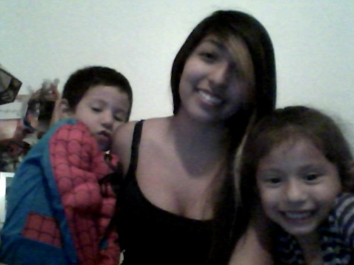 It's been a while since I've been on here.(: Just hanging with my siblings