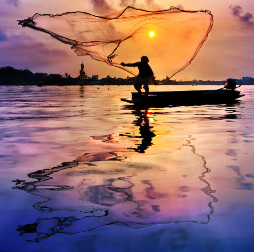 Fishing Photograph #1 by Wandy Gaotama,