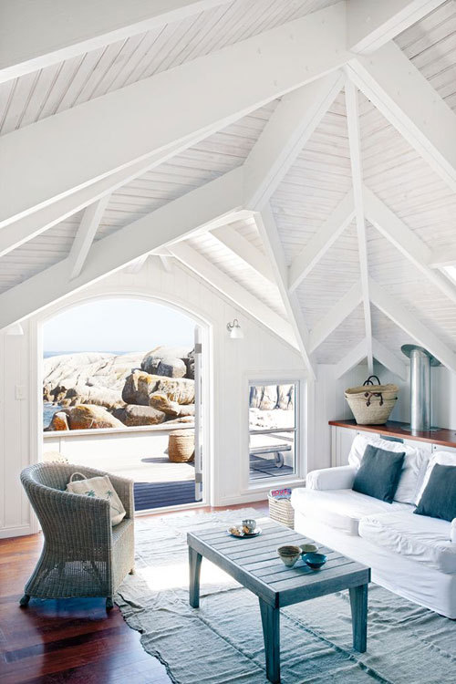 (via a home right at a beach in cape town | the style files)