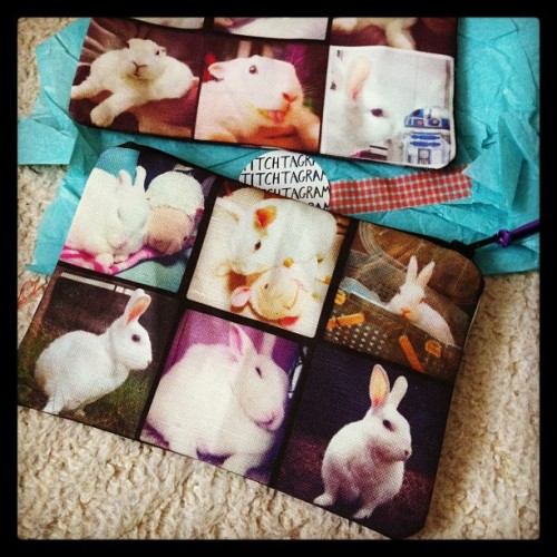 Bunny coin purses! Thanks for posting, @littleegg!