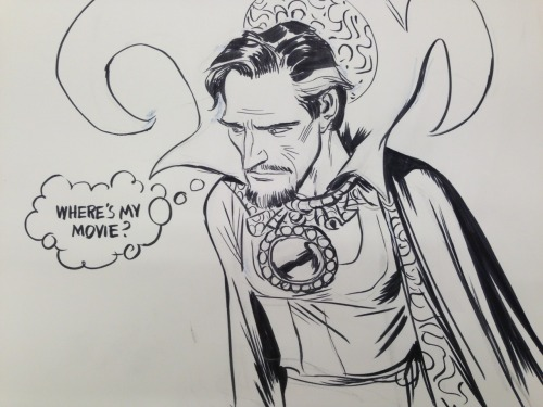 What's a Sorcerer Supreme got to do around here?
