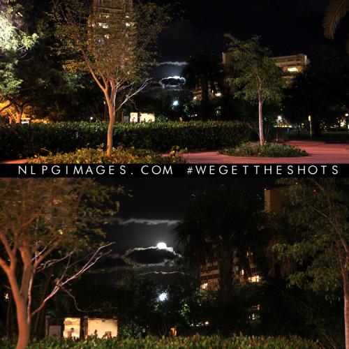 I shoot at night to create light. #SouthBeach