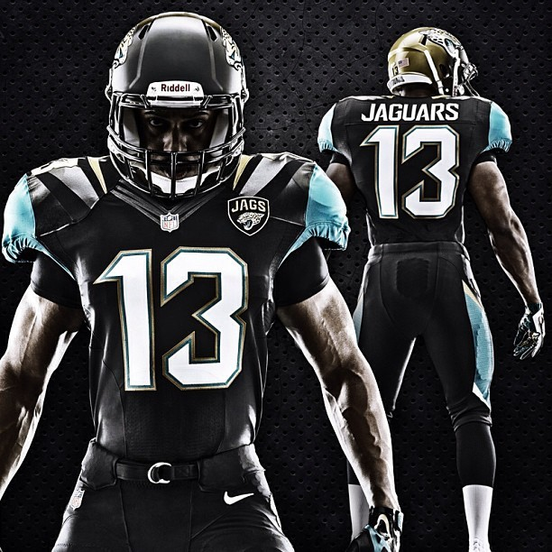 The Jaguars released new 'revolutionary' uniforms.