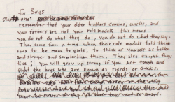 dollpeach:  kurt cobain journals
