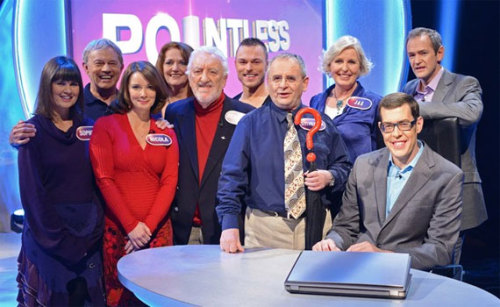 Doctor Who Stars To Appear On BBC Quiz Pointless   For those of you that have not had their chance to get their hands on a copy of Doctor Who Magazine as yet, the BBC has announced a special Doctor Who episode of BBC One quiz show Pointless will air on March 23rd at 6pm, just one week before Series 7b arrives on our screens! Pointless sees contestants tested on their obscure knowledge, with the answer that is least well-known (and correct) being the most desirable. Appearing in the special edition of Pointless will be classic Doctor Who actors and actresses including Sylvester McCoy (the Seventh Doctor), Sophie Aldred (Ace), Nicola Bryant (Peri), Louise Jameson (Leela) and Frazer Hines (Jamie). From the new series, specifically the David Tennant years, there will be Bernard Cribbins (Wilfred Mott), Jacqueline King (Sylvia Noble) and Andrew Hayden-Smith (Jake Simmons). You'll all recognise the show's host Alexander Armstrong from his turn in Doctor Who's 2011 Christmas special The Doctor, the Widow and the Wardrobe. He also played the computer Mr Smith for five series of The Sarah Jane Adventures.
