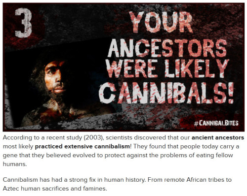 10 Horrifying Facts About Cannibalism…You Really Didn't Want To Know!New Cannibal movie, WE ARE WHAT WE ARE comes to the UK on DVD and Blu-ray on the 3rd March. Click here for more.