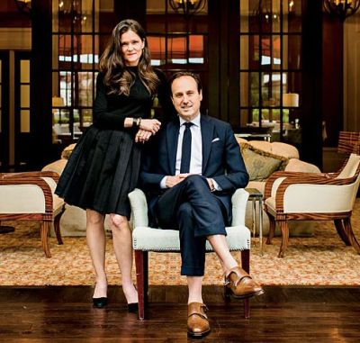iqfashion:  Ann and Sid Mashburn. Source: southernliving.com