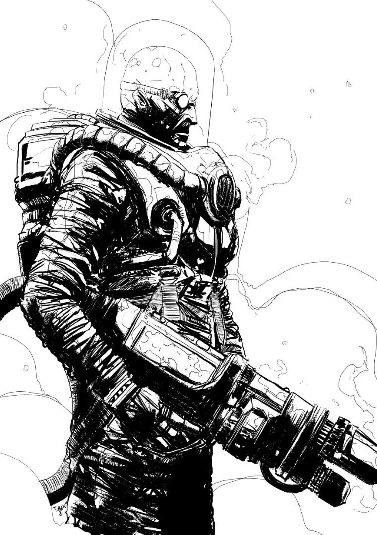 Mr. Freeze by Tristan Jones