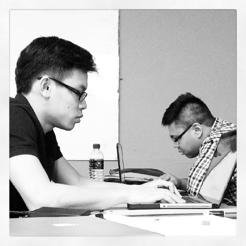 My company. Boys In Glasses. #blackandwhite #random #men #class #advertising