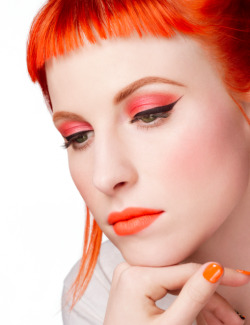 theparamoreband:  RELEASE DATES FOR HAYLEY'S COLABORATION WITH MAC COSMETICS:  US & Canada: April 9th; UK: April 10th; Austria, Netherlands, Russia, Spain, and Korea + Germany, Italy, Belgium, Denmark, France and Australia: April 16th.