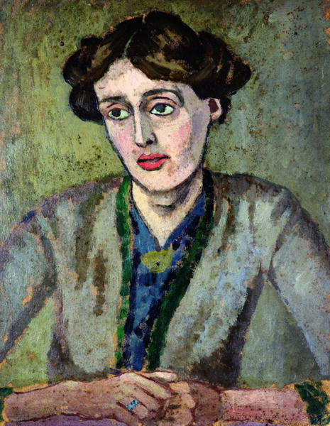 explore-blog:  Portrait of Virginia Woolf – born 131 years ago today – by Roger Fry, 1917.