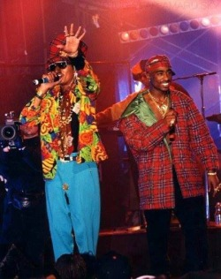 strappedwithaglock:  Pac and shock g
