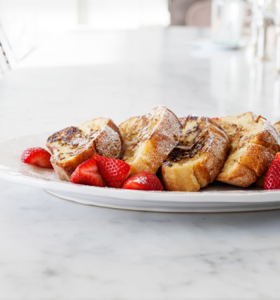 foodopia:  vegan french toast: recipe here