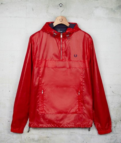 Awesome Fred Perry cagoule out for SS13. Check out my blog www.thecagoule.com