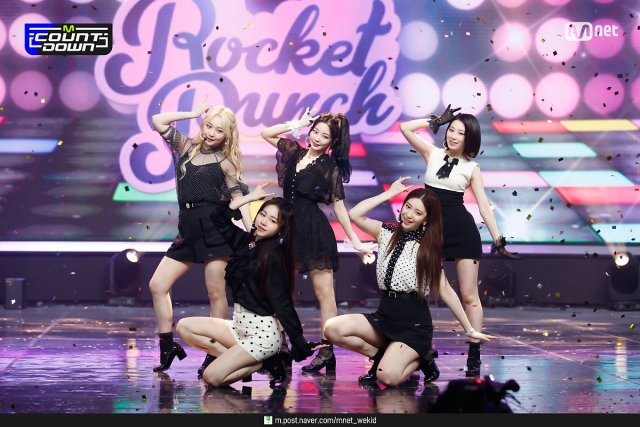210610 Mnet M!Countdown #rocket punch#210610 #mnet m!countdown #e:ring ring