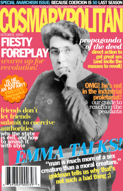 jointheiww:  cosmarxpolitan:  Cosmarxpolitan, Issue 16 Is he having an affair? Find out, Haymarket style  My godFavorite anarchist