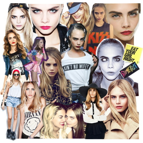 vs-angelwings:  Cara's everywhere