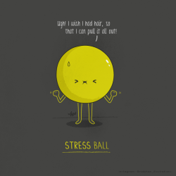 Stress Ball —— Nabhan Abdullatif Prints , Gallery , Facebook , Twitter , Tumblr