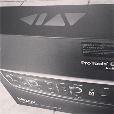Pro tools, 2013 is gonna be interesting.#avid #protools #music #sound #christmas