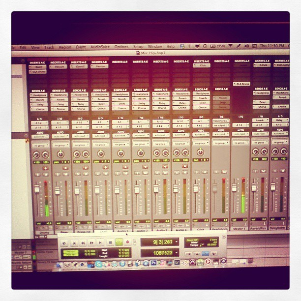 Mixing On Protools HD