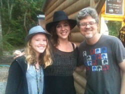 With Serena Ryder and Amanda Redfern-Taube (daughter 1), in Nashville
