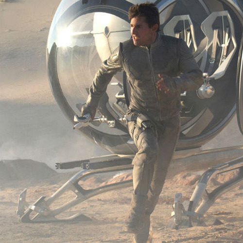 Tom Cruise stars in new Oblivion image A new image has emerged online from Joseph Kosinski's Oblivion, featuring a space-suit-wearing Tom Cruise getting his sprint on…