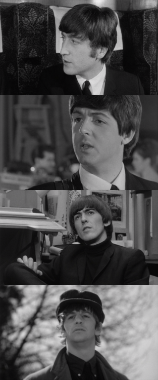 A hard day's night, 1964 (dir. Richard Lester)