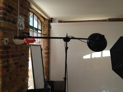 I finally picked up a boom arm for the studio!