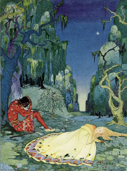 swirlofillustration:  The Forest | Virginia Frances Sterrett