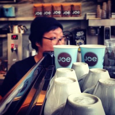 Last day of work!  (at Joe The Art of Coffee)