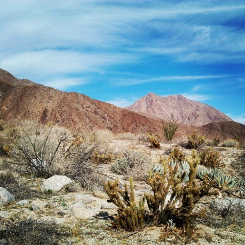 #anza #borrego #hellhole #canyon #desert #hike #richiesubintr #photography #outdoor #nature #landscape #sky #mountain #adventure