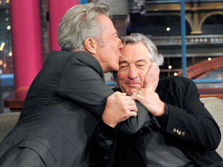 nprfreshair:  Dustin Hoffman tells Fresh Air's Terry Gross about getting visibly teary when his friend Robert De Niro presented him with the Kennedy Center Honor in December:      What hit me — and it hit me very hard — … [was] De Niro is announced, he comes out on the stage and he starts talking about me and I realized, 'Oh, I guess I'm first up,' and … I've known him for years and we're very good friends. I think we've always felt there's like a brotherhood between us … but, you know, actors don't talk to each other about acting … but suddenly, in this speech he gave, what he said about me he had never said and it just got me, his feelings toward me as an actor and I called him the next day … and I told him over the phone how deeply it hit me and he said to me mid-conversation, 'Dustin, stop, he says, you're making me cry,' and even talking about it now, that was the highest moment for me, with all due respect to the President and the First Lady.""