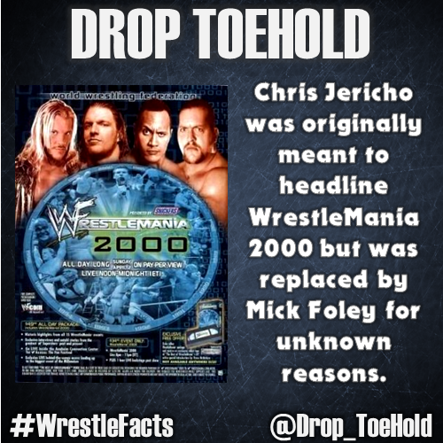 Follow Drop ToeHold on Twitter for more #WrestleFacts