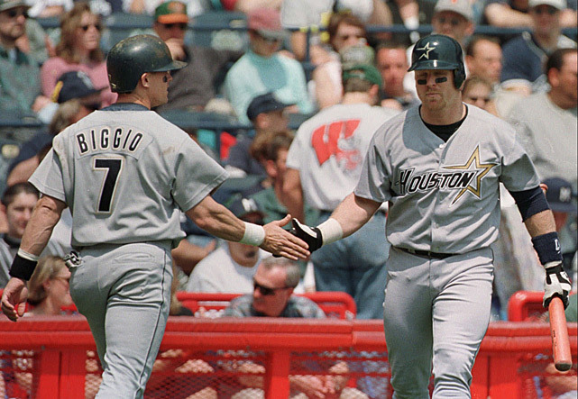 Should Craig Biggio and Jeff Bagwell deserve a spot in the Hall of Fame? SI's Jay Jaffe thinks so. Do you? (AP Photo/Steven Senne) JAFFE: Biggio deserves call to Hall of Fame | Bagwell, too
